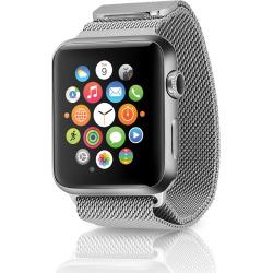 Apple Watch Series 2 w/ 42mm Stainless Steel Case & Milanese Loop – Silver (Pre-Owned)