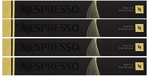 """OriginalLine Capsules: Vanilio, 10 Capsules – """"NOT compatible with Vertuoline"""" (4 Boxes)"""