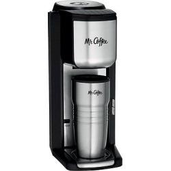 Mr. Coffee Single Cup Coffee Maker – Bvmc-SCGB200, Silver