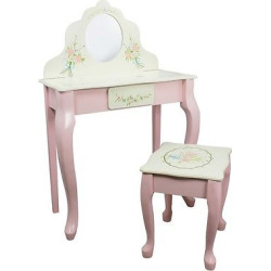 Fantasy Fields Bouquet Classic Vanity Table & Stool Set – Teamson