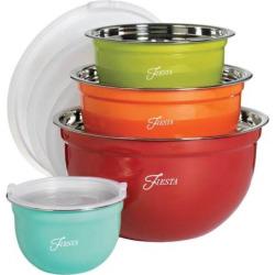 Fiesta 8-pc. Mixing Bowl Set, Multicolor