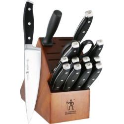 J.A. Henckels Forged Premio 15-pc. Cutlery Set, Brown
