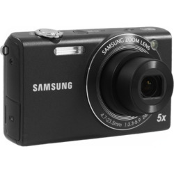 Samsung SH100 14-Megapixel Wi-Fi Digital Camera – Black (Refurbished)
