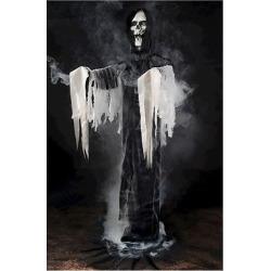 Halloween Reaper Fogger Phantom Decor, Black