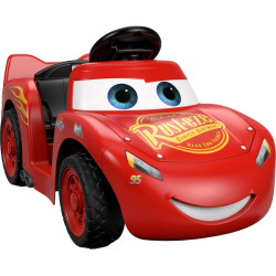 disney pixar cars 3 lil lightning mcqueen ride on by power wheels multicolor - Allshopathome-Best Price Comparison Website,Compare Prices & Save