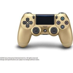 Sony DualShock 4 Wireless Controller: Gold for PlayStation 4