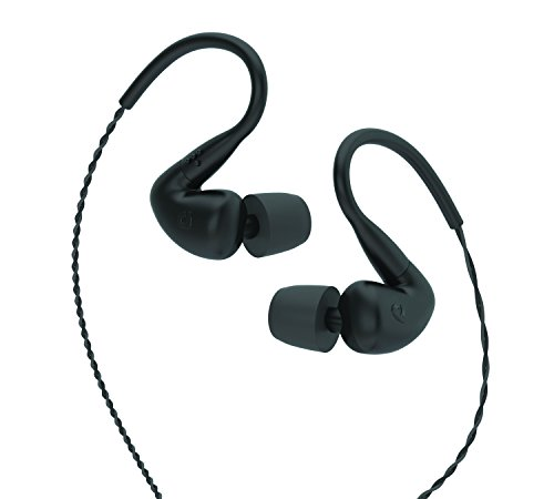 AudioFly – AF120 Hybrid Dual Driver Universal In-Ear Monitors – Roadie Black