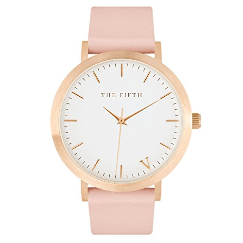 The 5TH Melbourne Rose Gold and Peach Watch 43mm