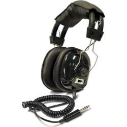 Bounty Hunter Adjustable Metal Detector Headphones, Black