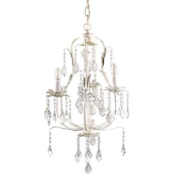 CoCaLo Baby 3-Bulb Chandelier, White