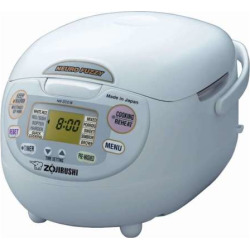 Zojirushi Neuro Fuzzy 10-Cup Rice Cooker, Multicolor