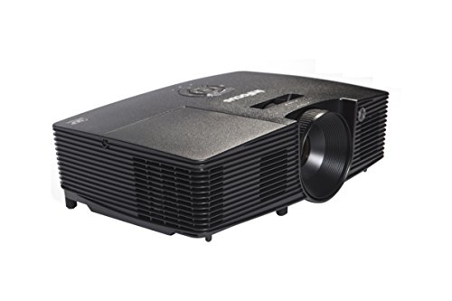 InFocus IN112XA Projector, DLP SVGA 3600 Lumens 3D Ready 2HDMI with Speakers