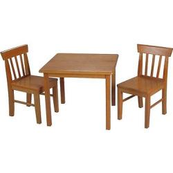 Gift Mark Honey Square Table 2 Chair set