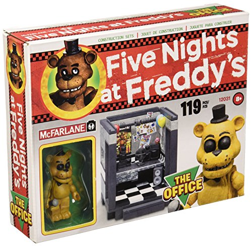 McFarlane Five Nights at Freddy's The Office Construction Set