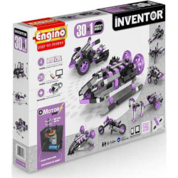 Engino 30-In-1 Model Adventure Building Set, Multicolor