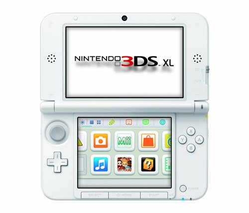 Nintendo 3DS XL Pink/White – Nintendo 3DS XL