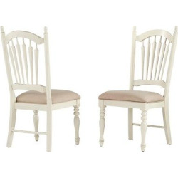 Meadow Hills Side Dining Chair Wood/Antique White (Set of 2) – Inspire Q