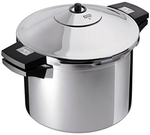 Kuhn Rikon Duromatic Stainless-Steel Stockpot Pressure Cooker – 6.3-Qt