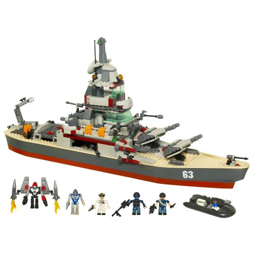 KRE-O Battleship U.S.S. Missouri Set (38977)(Discontinued by manufacturer)
