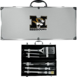 Missouri Tigers 8-Piece BBQ Set, Multicolor