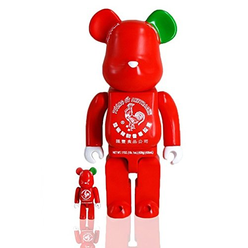 SDCC 2015 Exclusive BAIT x Medicom Sriracha Sketracha Bearbrick Set Sket One