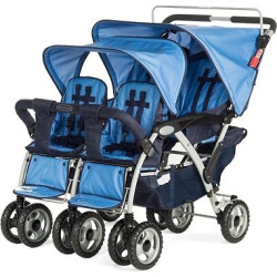 Child Craft 4 Passenger Stroller – Blue