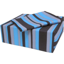 Veratex On the Edge Striped Sheet Set – Queen, Blue Queen Set