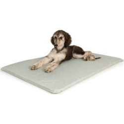 K and H Pet Cool Rectangle Pet Bed III – 32 x 22, Grey