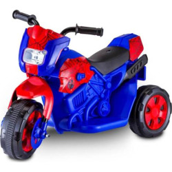 Marvel Spider-Man Motorcycle Ride-On, Multicolor