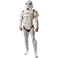 Star Wars Men's Deluxe Stormtrooper Costume – S, Multicolored
