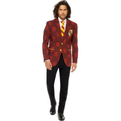 Men's OppoSuits Slim-Fit Harry Potter Suit & Tie Set, Size: 40 – regular, Red Yellow