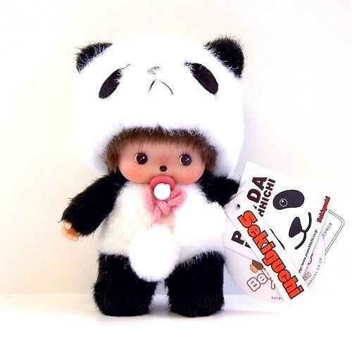 Bebichhichi Original Sekiguchi 6″ Panda Baby Monchhichi