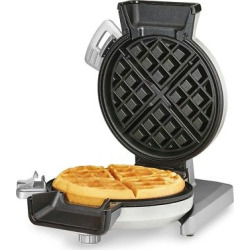 Cuisinart Vertical Waffle Maker – Stainless Steel Waf-V100, Silver