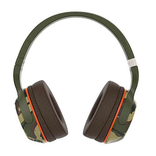 Skullcandy Hesh 2 Bluetooth Wireless Headphones with Mic, Camo
