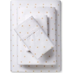 Organic Sheet Set (King) Mini Flower Ditsy New Wheat – Threshold