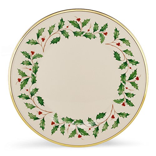 Lenox Holiday Set of 6 Dinner Plates,multi