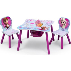 Disney's Frozen Table & Chairs with Storage by Delta Children, Multicolor