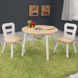 KidKraft Modern Table and Chair Set, Multicolor
