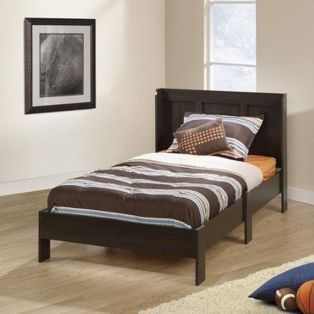 sauder parklane twin platform bed with headboard cinnamon cherry guestroom - Allshopathome-Best Price Comparison Website,Compare Prices & Save