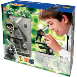 edu toys 640x die cast optical microscope with dual lights multicolor - Allshopathome-Best Price Comparison Website,Compare Prices & Save