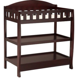 delta children infant changing table with pad espresso cherry - Allshopathome-Best Price Comparison Website,Compare Prices & Save