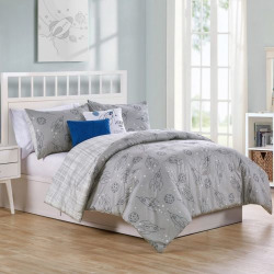 vcny home blast off comforter set grey - Allshopathome-Best Price Comparison Website,Compare Prices & Save