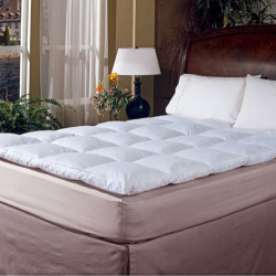 Royal Majesty 2-in. 233-Thread Count Featherbed – King, White