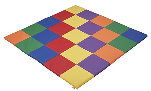 ecr4kids softzone patchwork toddler foam play mat 58 square primary - Allshopathome-Best Price Comparison Website,Compare Prices & Save