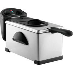 Gourmia FryStation with Timer, Multicolor