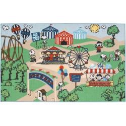 Peanuts Friends Circus Rug – 39″ x 63″, Multicolor