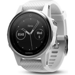 Garmin fēnix 5S Multisport GPS Smartwatch, White