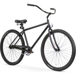 Men's Firmstrong Black Rock Single Speed Beach Cruiser Bike