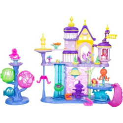 My Little Pony: The Movie Canterlot & Seaquestria Castle Light-Up Tower Playset, Multicolor