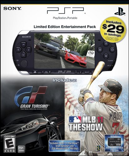 PlayStation Portable Limited Edition MLB 11 & Gran Turismo Entertainment Pack
